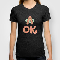 A OK T-shirt by Nick Nelson   Society6