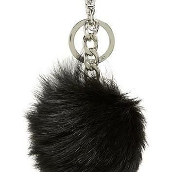 MICHAEL Michael Kors Genuine Fox Fur Bag Charm | Nordstrom