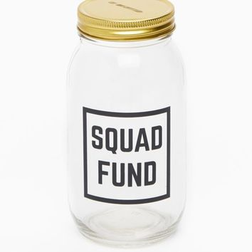 Squad Fund Mason Jar Bank | Banks | rue21