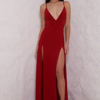 ELLE gown (red)
