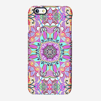 Artistic Floral iPhone 6 Case iPhone 6 plus Case Ethnic iPhone 5 Case iPhone 5C iPhone 4S/4 Case Samsung Galaxy S6 edge S6 S5 S4 S3 Case 051