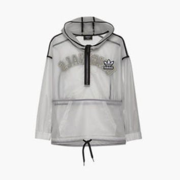 Adidas Originals Rita Ora Transparent Windbreaker Jacket ALL SIZ FREESHIP S11799
