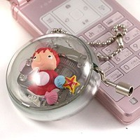 Ponyo key chain music box