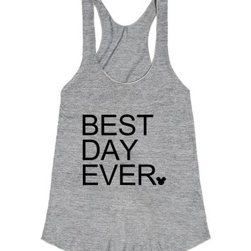 Best day ever | Racerback | SKREENED