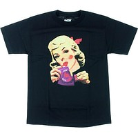 DGK F With It Tee Small Black