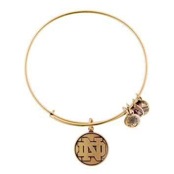 University Of Notre Dame® Logo Charm Bangle