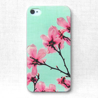 iPhone Case, iPhone 4 Case, iPhone 4S Case, iPhone Case 4/4S - Blossom - 087