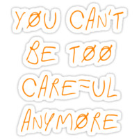 "Paramore - ""You Can't Be Too Careful Anymore"""