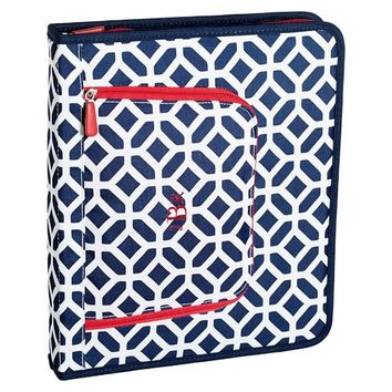Gear-Up Navy Peyton Homework Holder