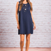Give You Everything Dress, Navy