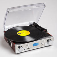 Crosley CR6007A | USB Transferable Tech Turntable | fredflare.com