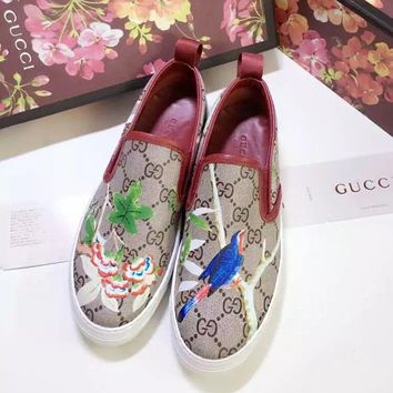 Gucci Fashionable Women Men Comfortable Print Sport Shoes Sneakers