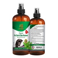Organic Pet Stain & Odor Remover Spray w/ Mint & Tea Tree Oil