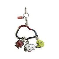 Peanuts Snoopy & Woodstock Cell Phone Charm OS310