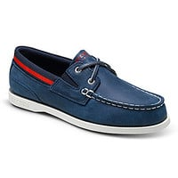 Sperry Top-Sider Boys' Authentic Original Sport Boat Shoes - Navy/Red