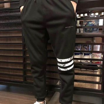 Adidas Winter Women Men Sport Casual Warm Long Pants Sweatpants Large size I-MG-FSSH