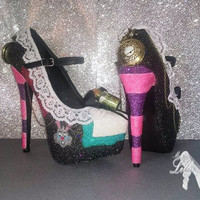 Shoes ~ Platform Mary Jane ~ Wedding, Fancy Dress, Comic Con, Bridesmaid, Sweet 16, Prom, Graduation, July 4th, Hen Do, Halloween, Hen Party