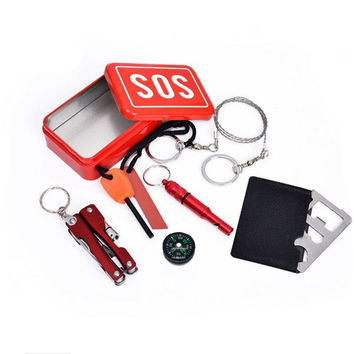 Emergency Survival SOS Tool Box