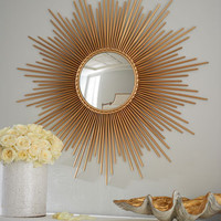 "Global Views - ""Thin Sunray"" Mirror - Horchow"