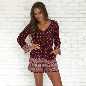Deep Thoughts Romper