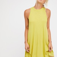 Free People Mock Me Mini Dress