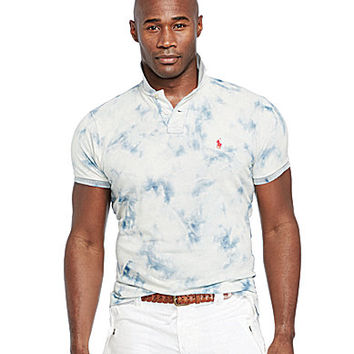 Polo Ralph Lauren Big & Tall Classic-Fit Bleached Indigo Polo Shirt