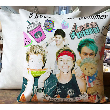 Shop 5sos pillow case on wanelo for 5sos room decor ideas