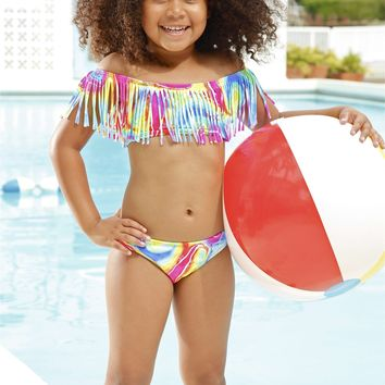 Peixoto Kids Audrey Bikini Set - Lollipop