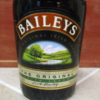 20 Ounce Pure Soy Candle in a Baileys 750ml Glass bottle - Fresh Brewed Coffee scent or Your Choice of Scent