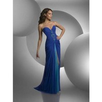 Sheath Sweetheart Floor-Length Chiffon Prom Dress SSC0344