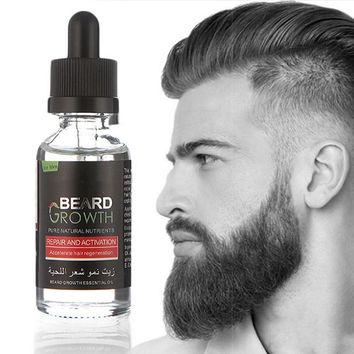 Natural Organic Beard Oil Beard Wax balm Hair Loss Products Leave-In Conditioner for Groomed Beard Growth Health Care