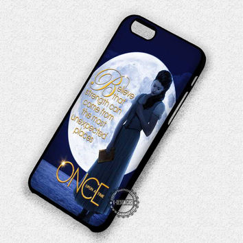 Full Moon Girl Storybrooke Belle Once Upon A Time - iPhone 7 6 5 SE Cases & Covers
