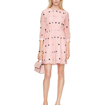 Kate Spade Tiny Spotlight Pleated Dress Pastry Pink