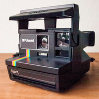 TESTED Polaroid Spirit 600, Polaroid Rainbow, Instant Camera, Polaroid Camera, Working Polaroid Camera, Polaroid Spirit, Polaroid 600
