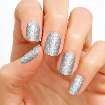 100% Real Nail Polish Strip by Color Street - Tinseltown (Buy 3 get 1 Free)