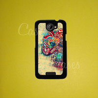 Htc One X case, Htc One Case, Colorful Elephant Htc One X Cover, Htc Case, HTC One X Cover