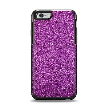 The Purple Glitter Ultra Metallic Apple iPhone 6 Otterbox Symmetry Case Skin Set