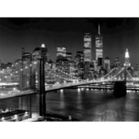 Art.com - New York Brooklyn Bridge Art Print