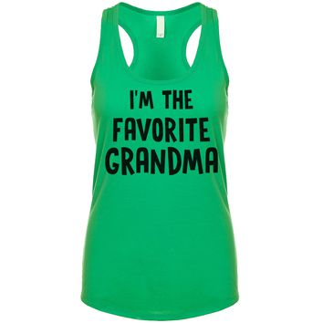 I'm The Favorite Grandma Women's Tank