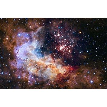 CLUSTER WESTERLUND POSTER Space Astrology - Amazing Nasa Hubble Telescope Shot RARE HOT NEW 24x36