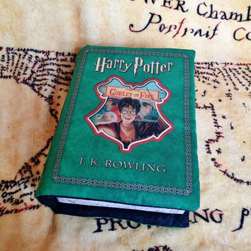 Harry Potter Book 4 Pillow Goblet of Fire