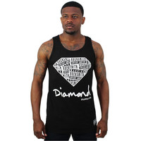 Rocksmith X Diamond Supply Co. Men's Logo Tank Top