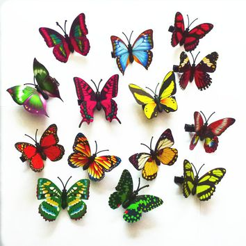 10pcs popular hairpins butterfly  hair clip Boutique girls Hair Accessories Headwear FOR KIDS clips for girl
