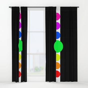 the cycles of life Window Curtains by Azima