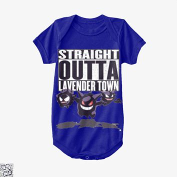 Straight Outta Lavender Town, Pokemon Baby Onesuit