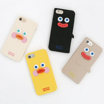 Brunch brother silicone case for iPhone 8 7 6S 6 ver2
