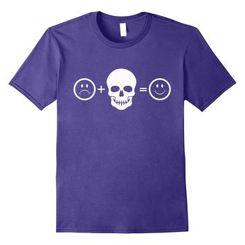 Skull T Shirt Equals Happy Skull Head Skull Clothing