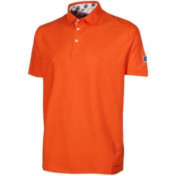 Florida Gators Lifestyle Pique Polo Shirt - Orange