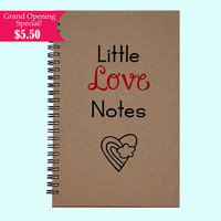 Little Love Notes - Journal, Book, Custom Journal, Sketchbook, Scrapbook, Extra-Heavyweight Covers