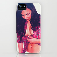 Naya Rivera iPhone & iPod Case by Hands in the Sky